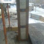 Усиление колонн в Харькове.