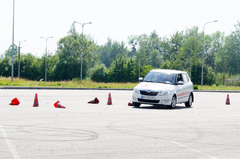 Сертифікат на Професійний курс водіння від РЕГА