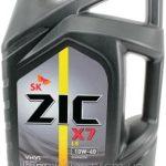 Моторное масло ZIC X7 LS 10W - 40 4л.