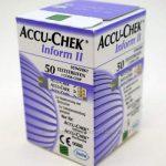 Продам тест полоски  Accu chek inform