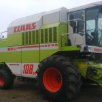 Комбайн зернозбиральний Claas Dominator
