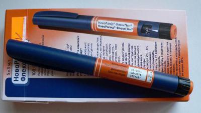 Продам Новорапид, Левемир в шприц ручках