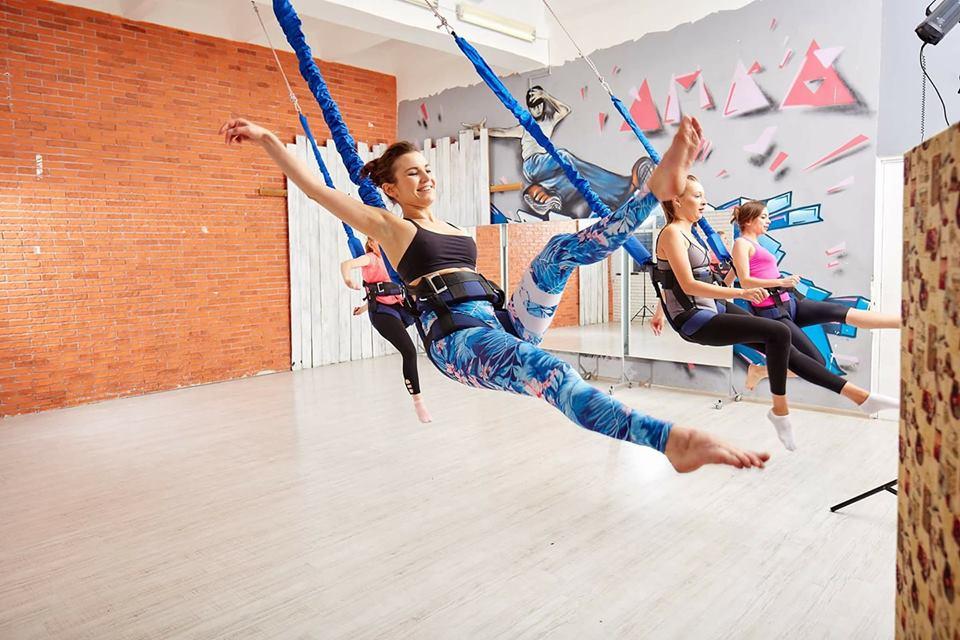 ФлайФит (Bungee) = фитнес, полет и развлечение