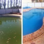 Перекись водорода, очистка воды в бассейне
