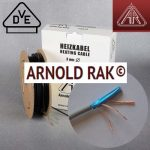 Электрический теплый пол Arnold Rak.