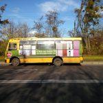 Реклама на тролейбусах, маршрутках