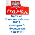 Польская виза под ключ