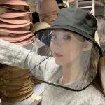 Защитная шляпа для лица