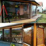 Прозрачные шторы и ролеты